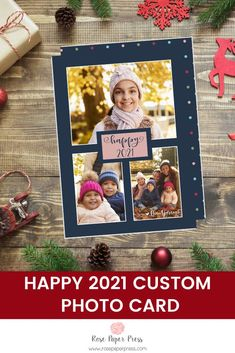Share 2021  holiday greetings with modern polka dots holiday photo cards. Need to add more pictures or share a detailed message? Add a complementary custom back upgrade. We design, personalize, and professionally print your holiday cards for you. Shop Holiday Cards today. Christmas Card Pictures, Christmas Photo Cards, Holiday Photos, Holiday Cards, Merry Christmas Happy Holidays, Merry Christmas Greetings, All Holidays, New Year Photos, Card Envelopes