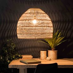 Looking for light and airy decor? Then the WILD Woven Rattan Pendant could be just the thing. Rattan Lamp, Rattan Furniture, Bamboo Lamp, Kitchen Furniture, Ceiling Rose, White Ceiling, Light In, Light Beige, Ceiling Canopy