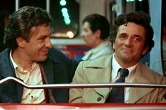 John Cassavetes and Peter Falk Columbo Peter Falk, John Cassavetes, Great Films, Whats New, Famous Faces, Social Media, Feelings, Books, Movies