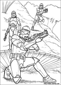 Find This Pin And More On STAR WARS Star Wars Coloring Pages