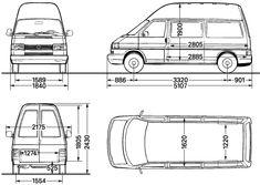 Grundriss des Reimo MultiStyle auf Volkswagen Transporter