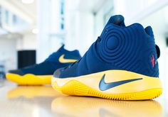 Nike KYRIE 2 Navy/Yellow