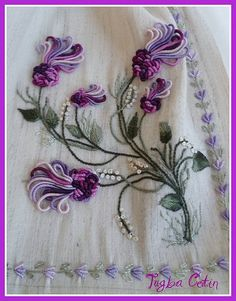 Wonderful Ribbon Embroidery Flowers by Hand Ideas. Enchanting Ribbon Embroidery Flowers by Hand Ideas. Brazilian Embroidery Stitches, Types Of Embroidery, Learn Embroidery, Hand Embroidery Stitches, Silk Ribbon Embroidery, Hand Embroidery Designs, Embroidery Techniques, Embroidery Needles, Eyebrow Embroidery