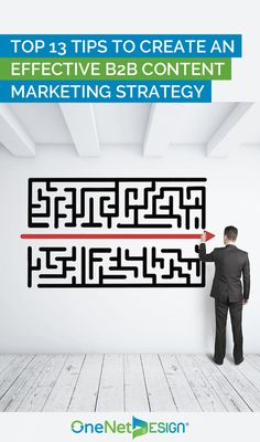 A clear and solid content marketing strategy is the key to the success of your B2B business that enables you to attract the right prospects and boost your conversion rates.