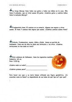 Recopilatorio de materiales Halloween Infantil y Primaria II. Fichas, bingos, imprimibles y muchos más recursos - Orientacion Andujar