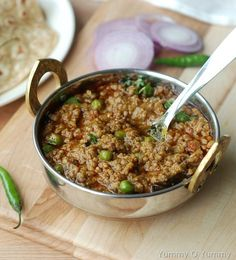 Kheema Matar (Minced meat and green peas curry) and a good news!