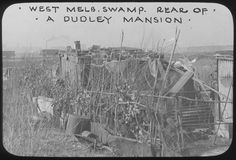 North West Melbourne swamp: Rear of a Dudley mansion West Melbourne, Melbourne Suburbs, Melbourne Victoria, Victoria Australia, Local History, Family History, Old Pictures, Old Photos, The 'burbs