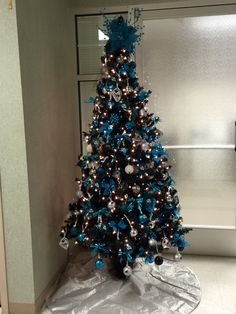 Carolina Panthers Christmas Ornaments, Stocking, Tree Topper ...