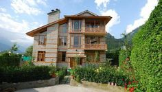 2BHK Panoramic vacation cottage for daily rent in #Manali, Himachal Pradesh.
