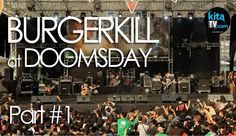 BURGERKILL - Live At Event DOOMSDAY Metal Festival 2015 - Bagian 1/3 (HD)