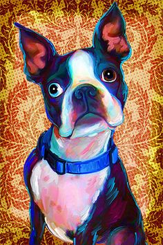 Check out Rebecca Collins at artpaw.com, her pet portraits are AWESOME!!