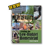 Creating the Low-Budget Homestead  If you've ever thought about pursuing a self-sufficient lifestyle on your own rural homestead or survival retreat but feared you didn't have the money or skills to do it, you simply must read this book. It is a goldmine of practical steps and instructions to take you from dreaming about an off-grid, independent lifestyle to living one.