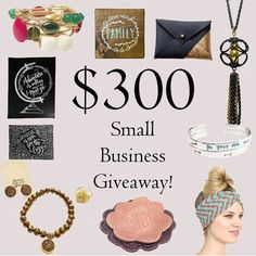 Christmas is coming!  We've partnered up with some of our favorite small businesses here on Instagram to bring you this awesome giveaway. Over $300 worth of handmade items (all items are shown in photo) all delivered to your doorstep! Keep them for yourself or give them as gifts - you decide! Here's how to enter: 1. Like this photo! 2. Follow @im_with_the_band_headbands 3. Go to @westbloompaperco and follow them! Thats it! Once youve made it back here (and liked  followed the other shops in…