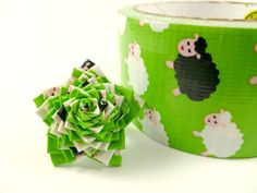 Sheep star duct tape ring! How do you make this!?