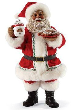 Cup of Santa - African American Santa Claus