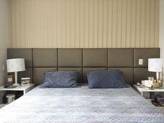 Cabeceira estofada Personalizada Bed Back, Kidsroom, Upholstery, Dining, Furniture, Home Decor, Cushion Headboard, Couple Room, Bedroom Decor