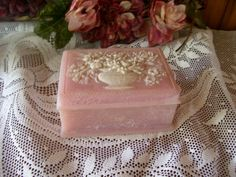 Gorgeous Pink Wedgewood Trinket Box Perfect by stonecottagemill, $24.00