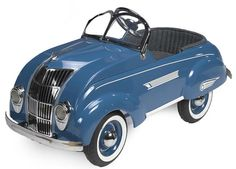A 1936 Chrysler Airflow pedal car by Steelcraft, Approximately 47 ins. long