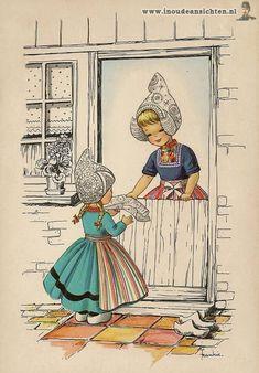 Dutch illustrator Frankie #NoordHolland #Volendam