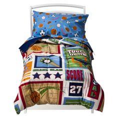 Circo® Toddler Sports Bed Set. cute. cheap.