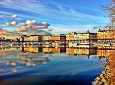Stockholm in January - Strandvägen