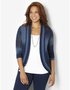 Color Vibe Cardigan | Catherines