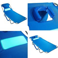 Outdoor Folding Reclining Beach Sun Patio Chaise Lounge Chair Pool Lawn Lounger #Unbranded #Contemporary Pool Lounge Chairs, Patio Chaise Lounge, Head In The Sand, Recliner, Sun Lounger, Lawn, Contemporary, Beach, Outdoor Decor