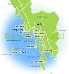 Krabi Town Guide Krabi Thailand Beaches Hotels Resorts : Beach Thailand