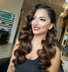 ▷ ideas and inspirations for stunning vintage hairstyles – Retro Frisuren - Wedding Hair Homecoming Hairstyles, Wedding Hairstyles For Long Hair, Wedding Hair And Makeup, Bride Hairstyles, Bridal Hair, Wedding Ponytail, Hair Wedding, Hair Do For Prom, Silver Hair Dye
