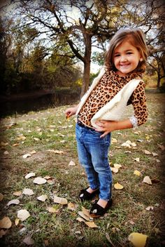 Kids fashion leopard love