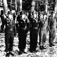 Soldiers of The Fallschirm-Panzer-Division 1. Hermann Göring.