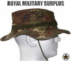 c2ef7d71c8 This Vegetato Camouflage Pattern Military Boonie Hat is in use by Italian  Forces. Made following