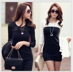 Find More Dresses Information about free shipping women ladies sexy cotton lace dress, maxi casual dress S M L XL for spring and autumn promotio ,High Quality Dresses from Sky Fashion apparel on Aliexpress.com