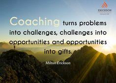 Erickson Coaching - Milton Erickson Quote