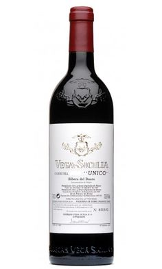Spain's highest rated and one of the world's best wine. Vega sicilia, from Ribera del Duero. #wine