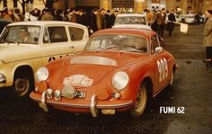 Dooijes/Slotemaker Porsche 356 B 1600 Monte Carlo Rally 1962 Monte Carlo Rally, Porsche 356, Rally Car, Antique Cars, Vehicles, 70s Style, Passion, Rally, Vintage Cars
