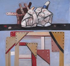 Table and Stretchers, 1978 Philip Guston