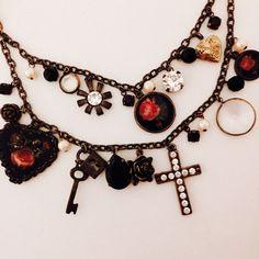 "Selling this ""Betsey Johnson rose locket cross necklace key gold"" in my Poshmark closet! My username is: pinkbowsnbling. #shopmycloset #poshmark #fashion #shopping #style #forsale #Betsey Johnson #Jewelry"