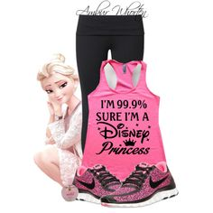 Working Out Princess Style