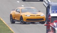 carro novo: Chevrolet Camaro 2014 Transformers 4