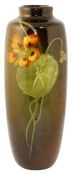 Owens Pottery Utopian Nasturtium Vase Shape 03
