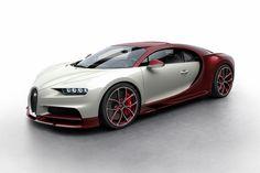 ブガッティ、新型スーパーカー「シロン」で8通りのカラー・パターンを公開