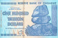 If you think being a billionaire is cool, then try being a trillionaire. That may not be possible in greenbacks, but with now-defunct Zimbabwe dollars it could be.  You'll find Zimbabwe dollars of various denominations for sale on Amazon.com, AMZN +0.78% eBay EBAY +0.78% and elsewhere (around $7, including shipping).
