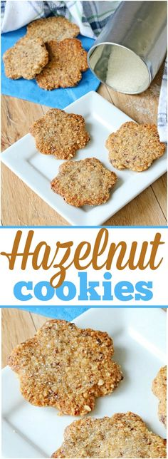 Easy hazelnut cookies are perfect this time of year! With a delicate nut flavor with sugar sprinkled on top it will become your new holiday tradition. via @thetypicalmom