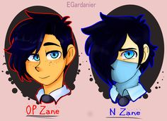 Two Zanes by egardanier.deviantart.com on @DeviantArt Upsidedown Stories Zane v. Normal Zane!