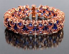 Duplicate Duets Bracelet project is published in the Fall 2012 edition of Wirework Magazine.