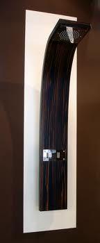 Aqvaplana wood shower panel