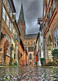 Lüneburg, Germany. J