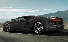 MANSORY CARBONADO Black Diamond based on the Lamborghini Aventador LP700-4