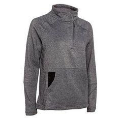 HI-TEC Womens Tarheel Asym Popover Half Zip Sweatshirt